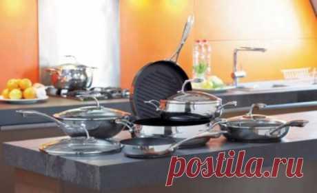 Верните блеск посуде из нержавейки