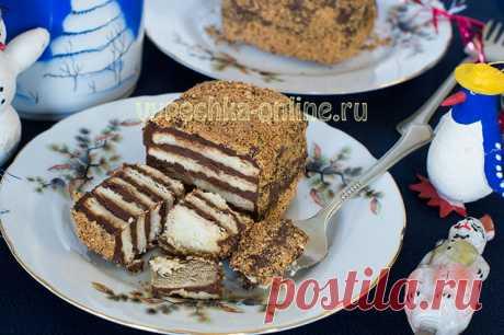 ✔️Десерт из печенья без выпечки – пирожное Kalter Hund, рецепт с фото пошагово