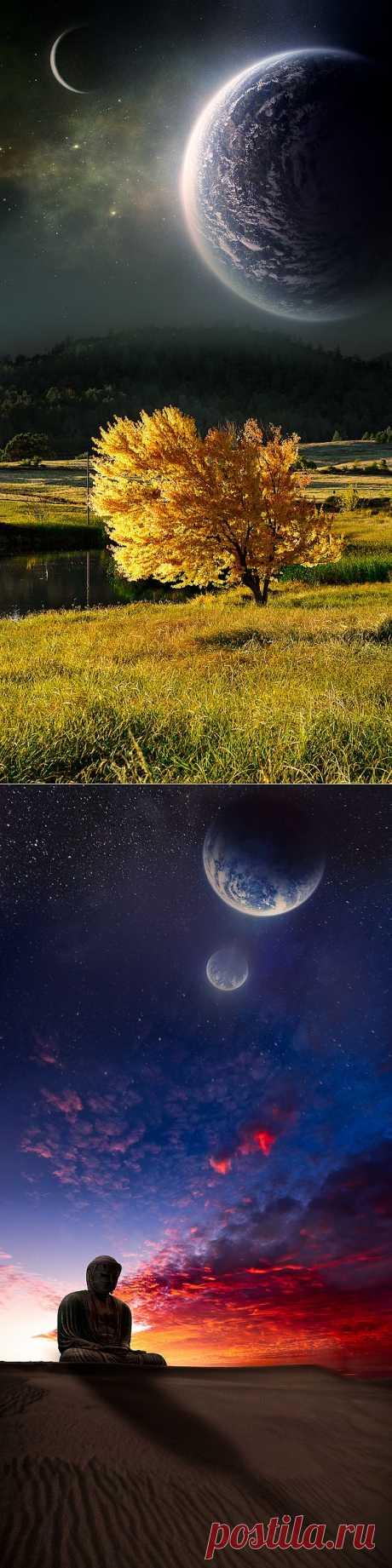 Сказочные пейзажи от Натана Споттса (19 фото)