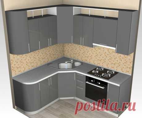 Проект кухни в 3d