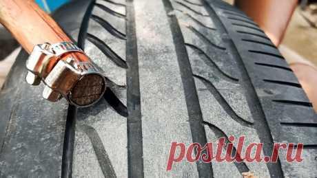 Как восстановить автомобильную шину. Делаем копеечный инструмент для нарезки протектора Если покрышки автомобиля или мотоцикла стерлись, восстановить их протектор можно вручную очень простым в изготовлении инструментом. Это позволит экономить кучу денег, продлевая срок использования старого комплекта резины.Что потребуется:деревянная рейка или брусок;лезвия для безопасной