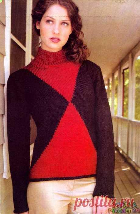 """Свитер """"испанская сюита """" - Жакеты,Пуловеры, свитера - Страна рукоделия"""