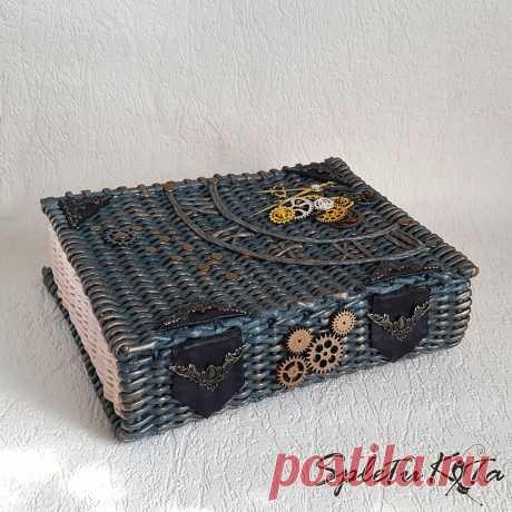Плетеная шкатулка книга