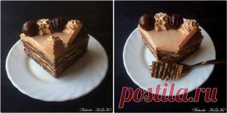 Торт из шоколадных блинчиков: katusha_2109