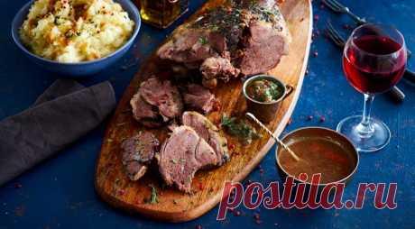 Праздничный мужской обед… или как приготовить большой кусок мяса.