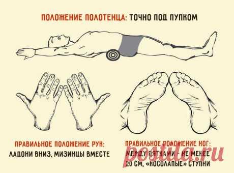 Японский метод, чтобы убрать живот и выпрямить спину – минус 4 см за 5 минут в день – Фитнес для мозга