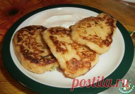 Картофельные оладьи с сыром Кулинарный рецепт