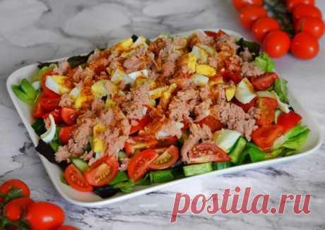 Легкий витаминный салат с тунцом - пошаговый рецепт с фото. Автор рецепта Food Good . - Cookpad