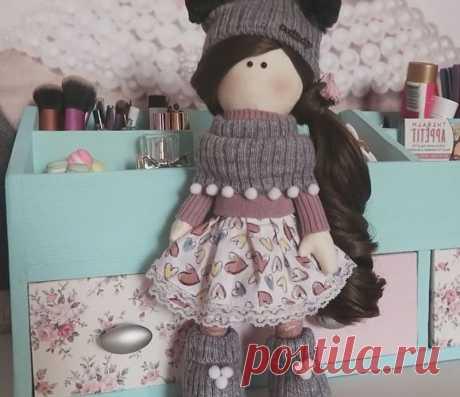 Мастер-классы - Вдохновение - Одежда для куклы-тильды - Куклы - ✂КомоК мастеров рукоделия