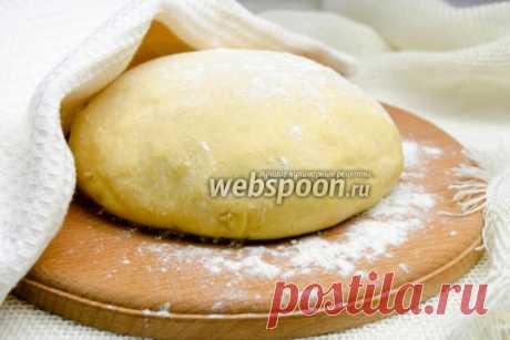 Testo en la base cocida | la Receta de la pasta cocida de la foto | Testo para el pan casero en Webspoon.ru