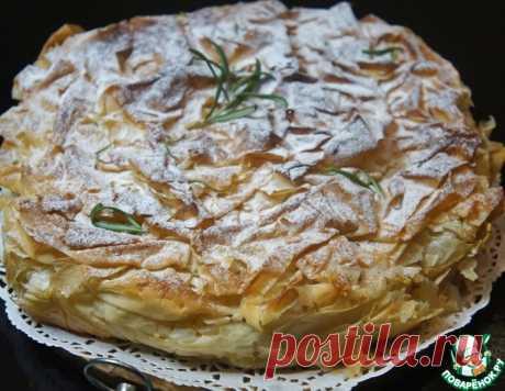 """Пирог """"Свадебная фата"""" – кулинарный рецепт"""