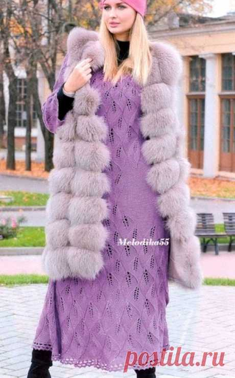 """El vestido largo por los rayos y el gancho\u000a\u000a\u000aConserven en kopilochki habiendo presionado \""""Repartir\"""" o \""""A mí gusta\"""""""