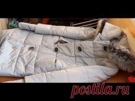 Как увеличить размер женской куртки по груди