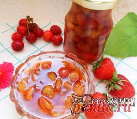Клубнично-черешневое варенье фото рецепт приготовления