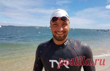 Казахстанский спортсмен переплыл озеро Иссык-Куль, преодолев около 55 км | Спорт