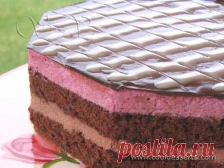 """Торт """"Шоколадно-смородиновый"""" (Сhocolate Black Currant Cake)"""
