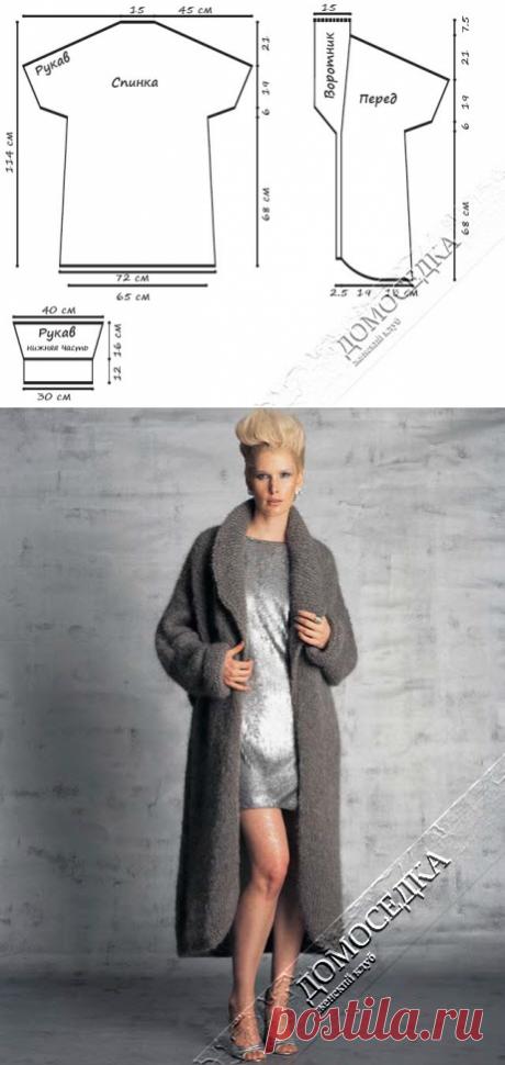 El abrigo volumétrico tejido | la PERSONA casera