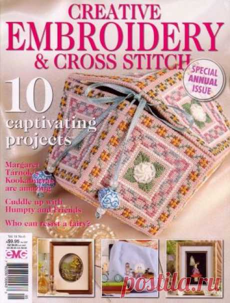 Embroid&CrossStitch - an embroidery - record of the user of verav (Belief) in the community Embroidery in categories of the Scheme of an embroidery the cross, an embroidery by a cross In these magazines collected different types of an embroidery. Here both cross, and smooth surface, and ленты....