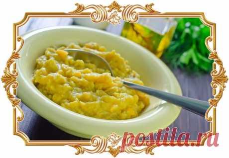 #Простая #гороховая #каша (#рецепт #вегетарианский, и #постный, и #диетический, и #для #детей и не только)  Она отлично подойдёт для #обеда или #ужина, а подавать её можно как с овощными салатами, так и с любимыми мясными блюдами.  Время приготовления: Показать полностью...