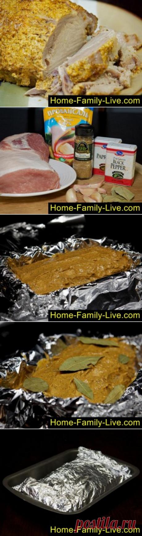 Свинина в фольге - пошаговый фоторецепт мясо запеченное в фольгеКулинарные рецепты