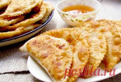 Домашние чебуреки с фасолью — Sloosh – кулинарные рецепты