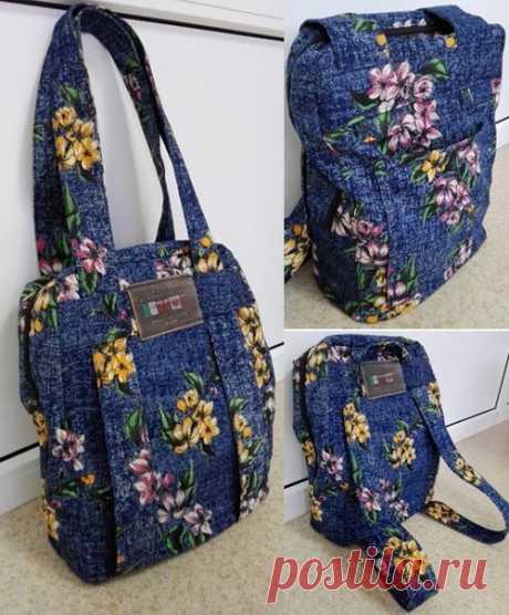 Идея сумки-рюкзака  #идея_сумки@vilbagru