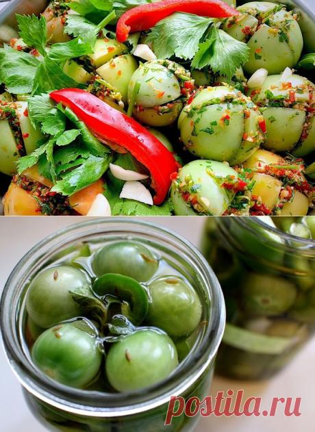 Что можно приготовить из зеленых помидор на зиму