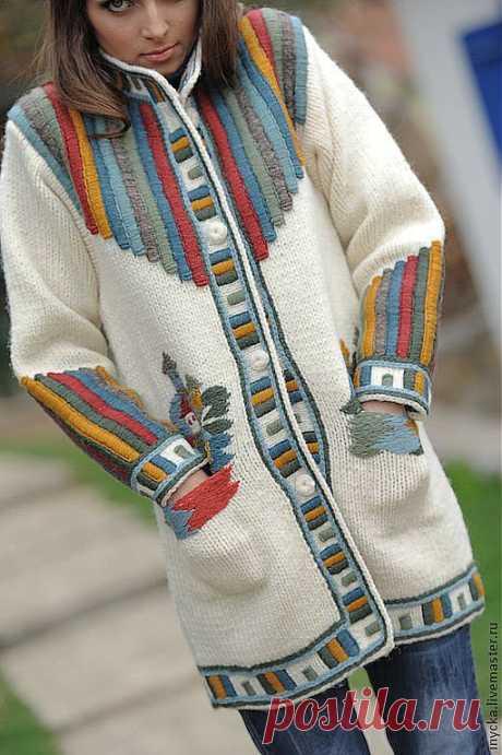 Вязаные пальто. Много идей для воплощения (без схем)