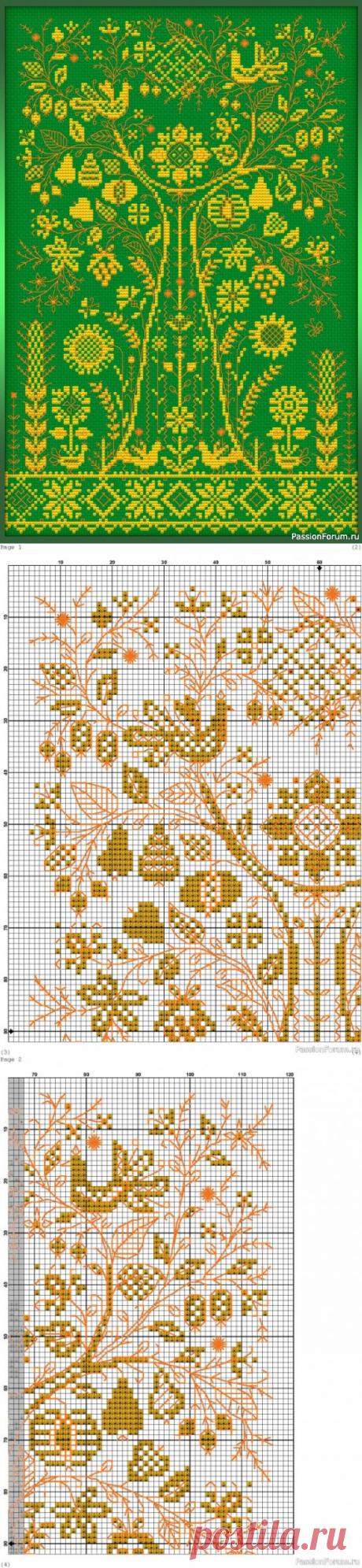 Макошь. Схема | Схемы вышивки крестом, вышивка крестиком