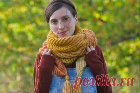 Перевод прекрасного шарфа #всё_в_дело