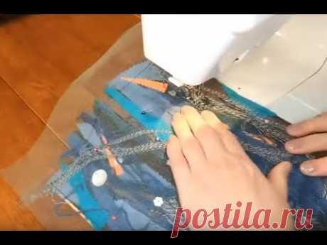 Заготовка для сумочки крутым методом. Техника Пицца