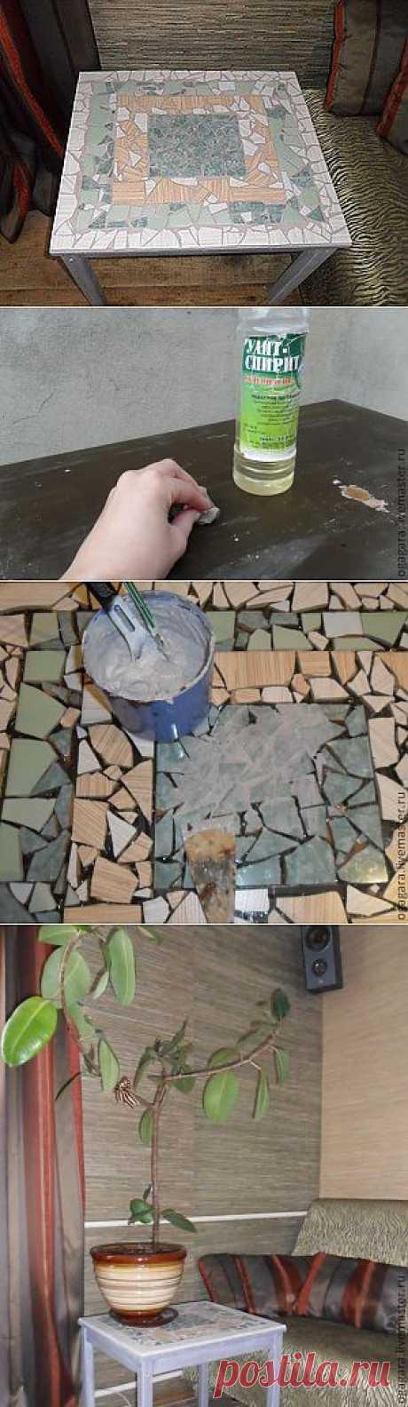 Мозаичный столик - Ярмарка Мастеров - ручная работа, handmade