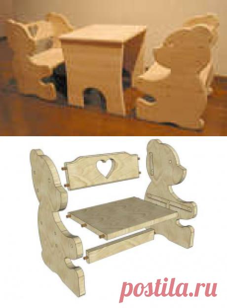 мебель для детской. Короткий мастер класс