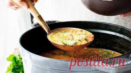Копченый чечевичный суп по-немецки | Суп из чечевицы, на запах которого сбегутся все соседи