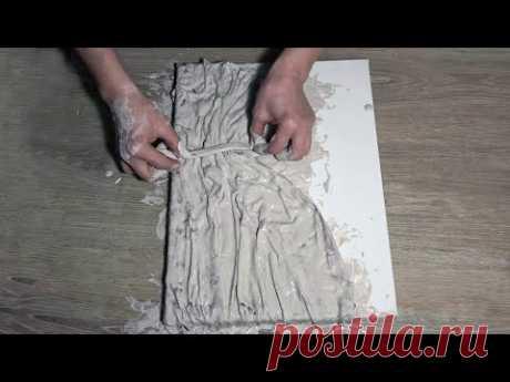 Панно-декор для дома своими руками. Как сделать барельеф
