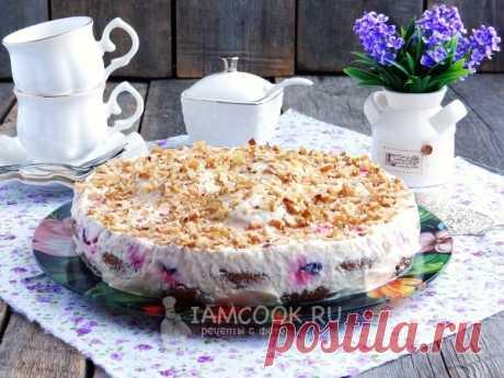>Торт из овсяного печенья без выпечки - нежный, восхитительный и бесконечно ароматный