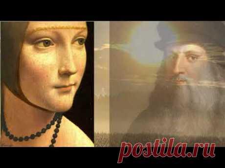 """Бесстрастная фаворитка, воспетая поэтами и художниками.  Леонардо да Винчи """"Дама с горностаем""""."""
