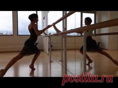 Técnica femenina de Tango