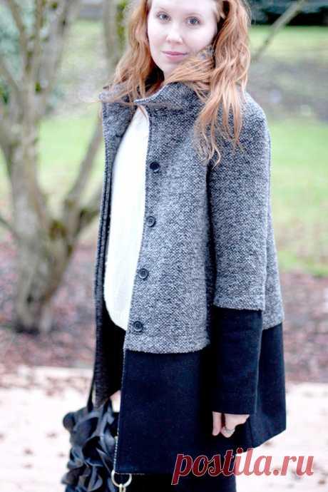 Идея для переделки пальто Модная одежда и дизайн интерьера своими руками