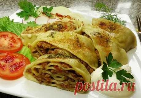 Готовим в мультиварке: узбекский ханум с бараниной – рецепт вкусняшки | Мужские вкусняшки | Яндекс Дзен
