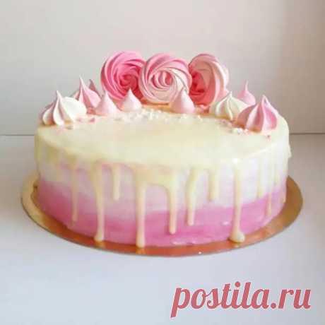 Торт из Зефира — Нежный Вкус для Домочадцев и Друзей - Скатерть-Самобранка - медиаплатформа МирТесен