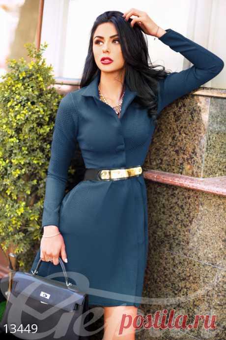 Gepur   Лаконичное женственное платье 13449 . Цена от производителя, достоверные описание, отзывы, фото