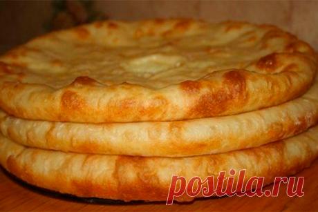 Осетинские пироги с картошкой - Рукодельные идеи