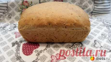 Хлеб домашний овсяный. | Дневники - на Diets.ru