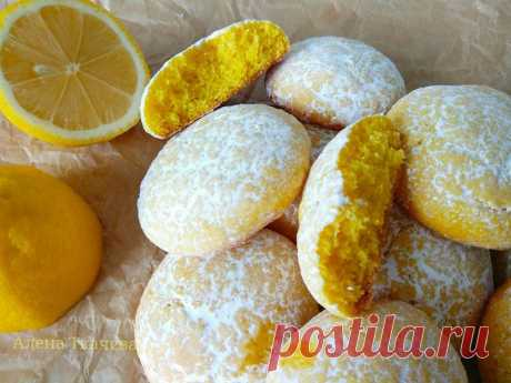 Лимонное печенье ГОТОВИМ БЕЗ ХНЫКОВ