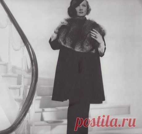 1935. Фото для модного журнала