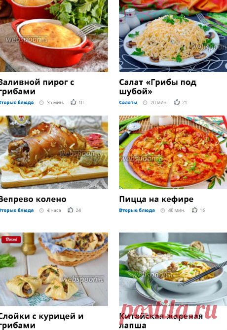 Рецепты блюд из грибов шампиньонов, что приготовить из шампиньонов - пошаговые рецепты с фото на Webspoon.ru