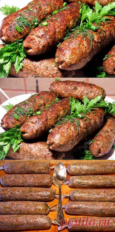 Колбаски из фарша | Бабушкины плюшки