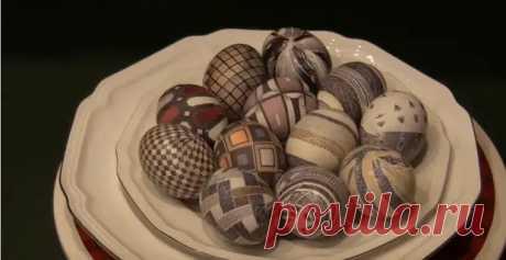 Самый простой способ покрасить яйца на Пасху - Сделай сам - медиаплатформа МирТесен