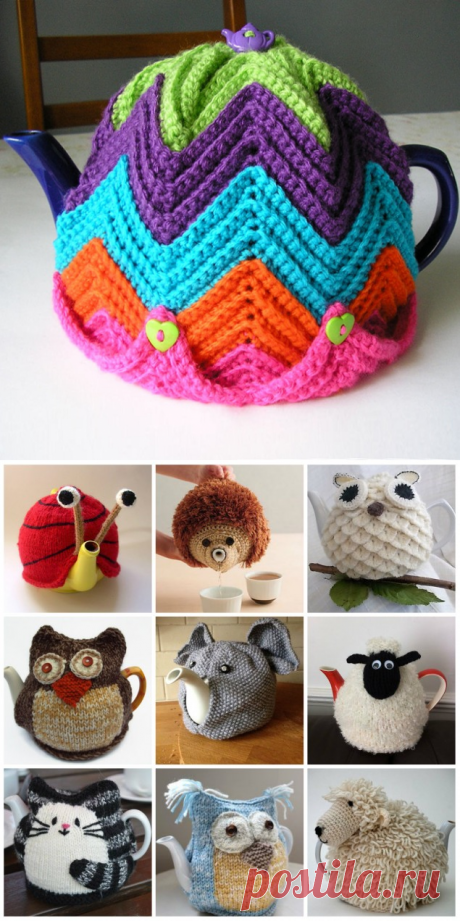 How to make a hot-water bottle with own hands? Hot-water bottles on a teapot a hook and spokes
